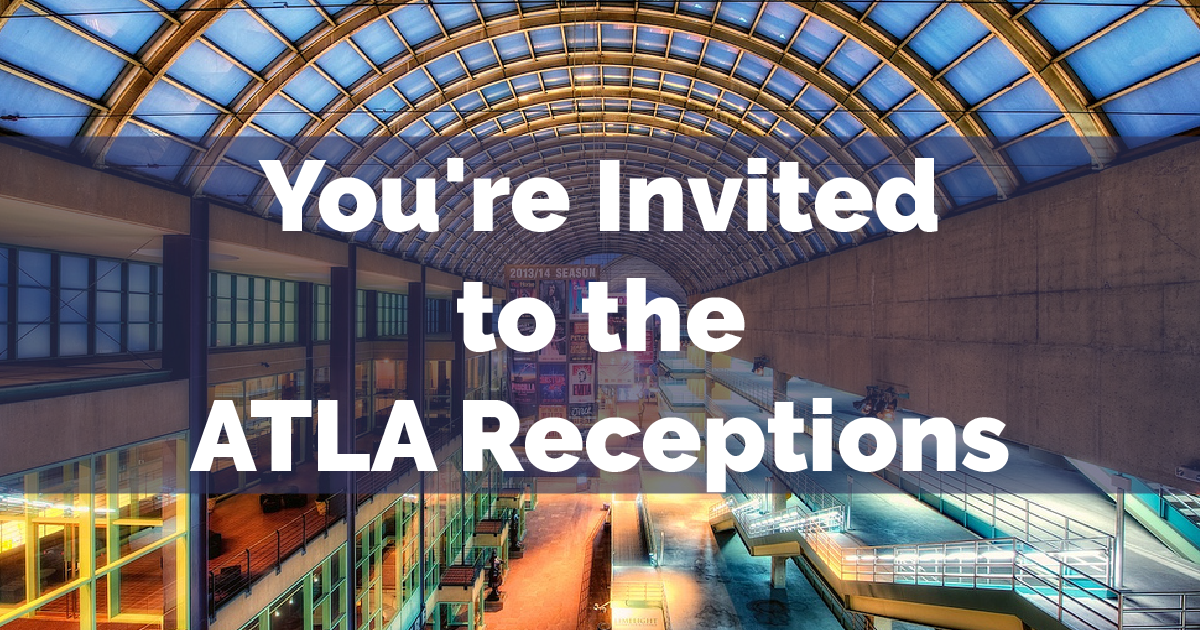 You're Invited to the ATLA Receptions at AAR & SBL - Atla