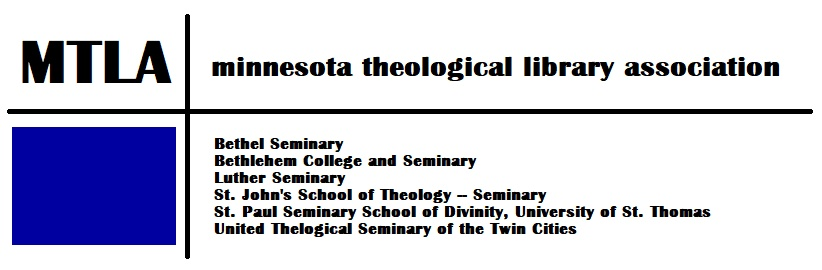 Minnesota Theological Library Association logo