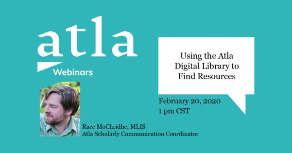 Atla Digital Library Resources