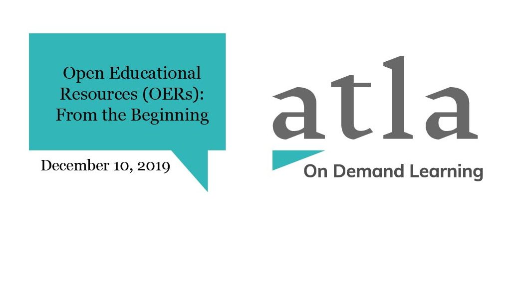 Open Educational Resources OERs