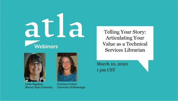 Telling Your Story Webinar