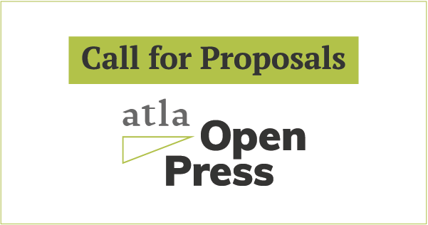 Call for Proposals Theological Libraries