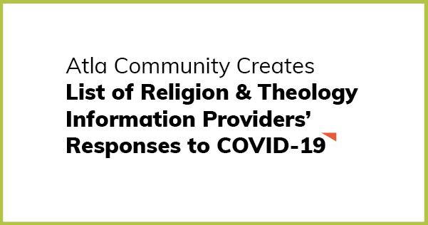 List of Religion & Theology InformationProviders