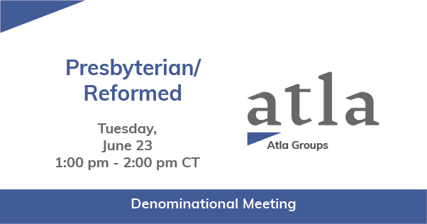 Presbyterian/ Reformed Denominational Group