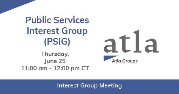 Public Services Interest Group