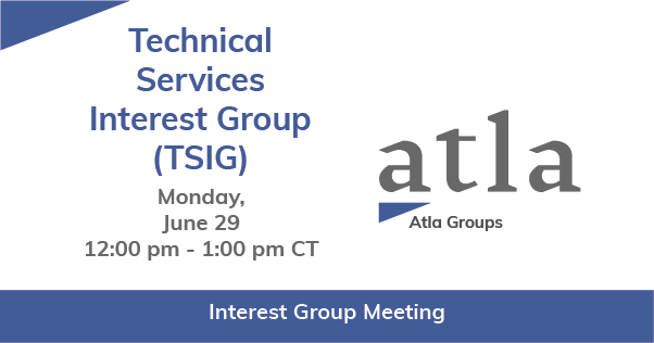 Technical Services Interest Group