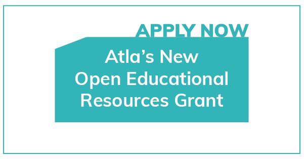 Atla OER Grants Program