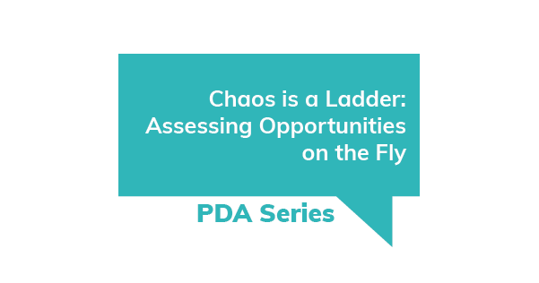 Chaos is a Ladder: Assessing Opportunities on the Fly