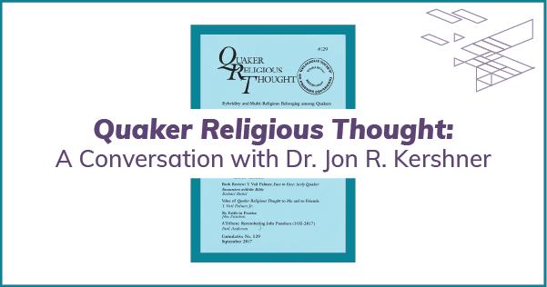 Quaker Religious Thought