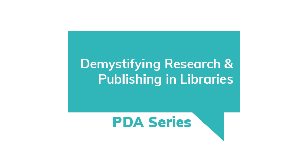 Demystifying Research and Publishing in Libraries