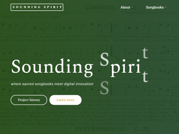 Sounding Spirit Digital Library