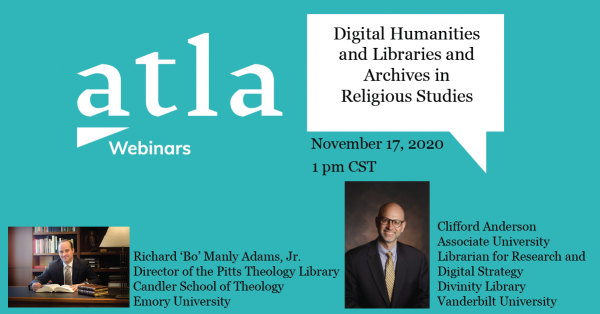 Digital Humanities Religious Studies