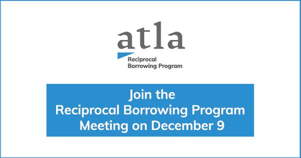 Reciprocal Borrowing Program Meeting