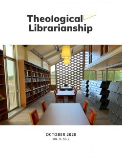 New Theological Librarianship Available