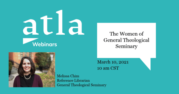 Women of General Theological Seminary