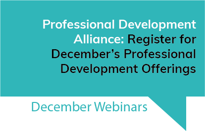 Professional Development Alliance December