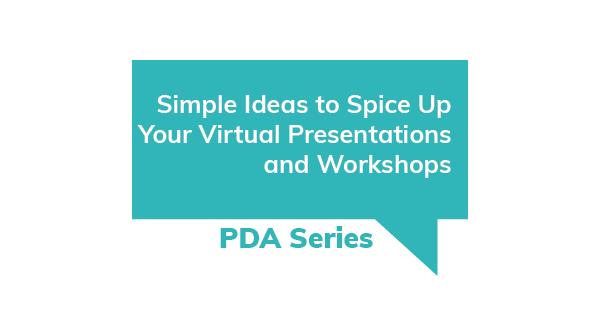 PDA Series Virtual Presentations