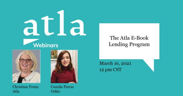 The Atla E-Book Lending Program