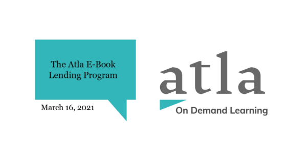 Atla E-Book Lending Program