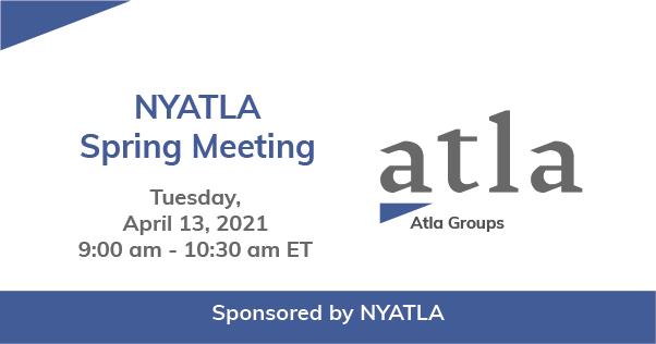 NYATLA Spring Meeting 2021