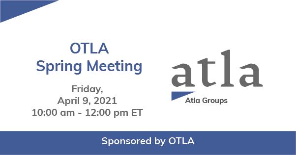 OTLA Spring Meeting 2021