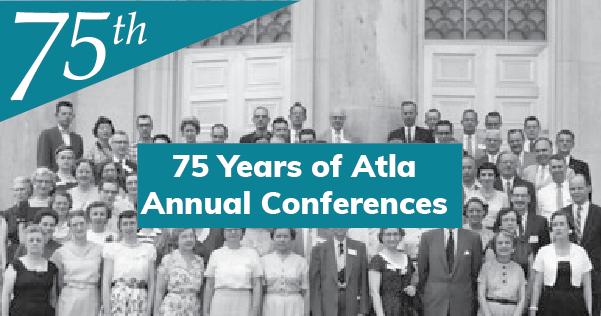 Atla Annual Conference 75