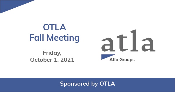 OTLA Fall Meeting 2021