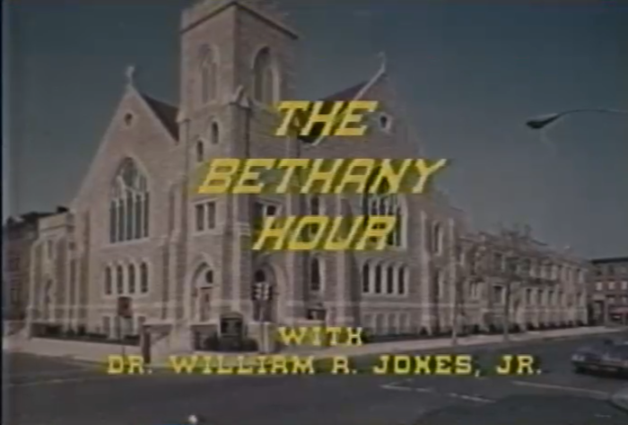 Title screen from The Bethany Hour