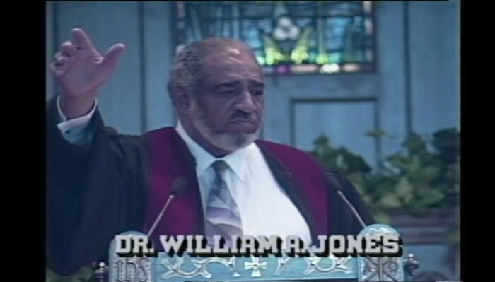 Video still from the Inherent Power sermon