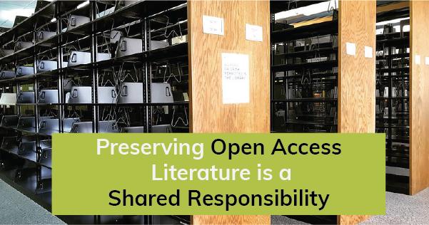 SCOOP Preserving Open Access Literature