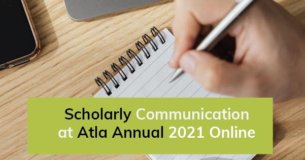 SCOOP Scholarly Communication Atla Annual 2021 Online