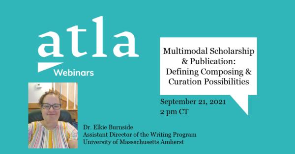 Multimodal Scholarship Webinar