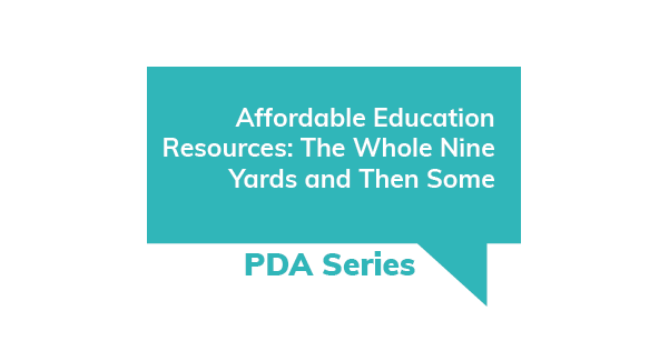 Affordable Education Resources