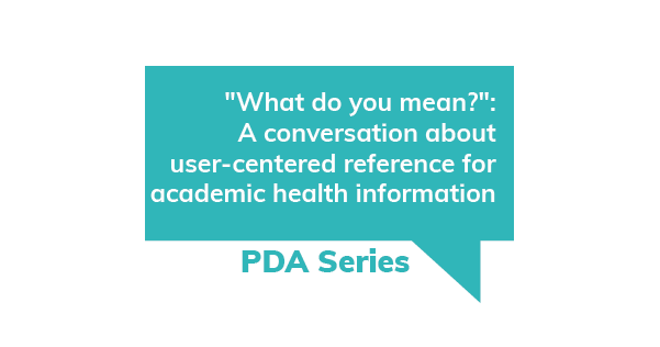 A conversation about user-centered reference