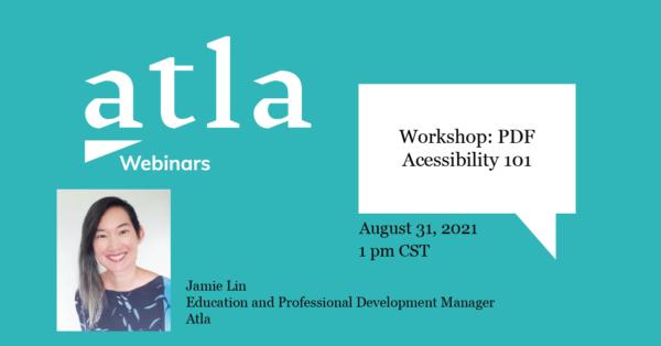 Workshop PDF Accessibility 101