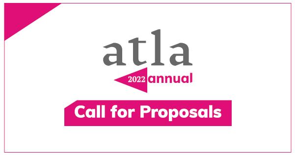 Proposals Atla Annual 2022