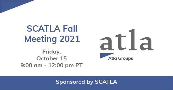 SCATLA Fall Meeting 2021